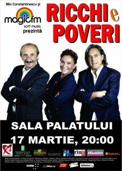 Concert Ricchi e Poveri la Sala Palatului