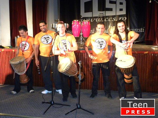 I drum, U drum, we drum…