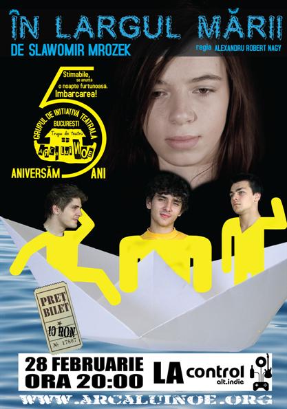 Grupul de Initiativa teatrala - Arca lui Noe - In Largul Marii