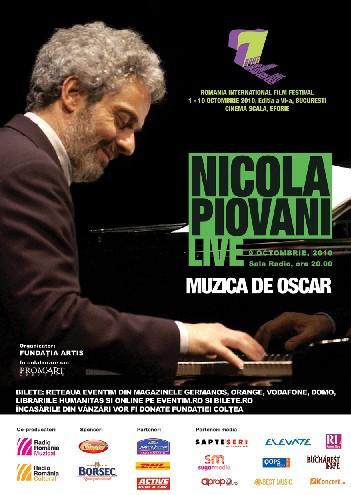 Nicola Piovani aduce muzica de Oscar la Bucuresti!