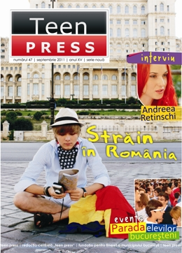 Revista de liceu - Teen Press - Strain in Romania