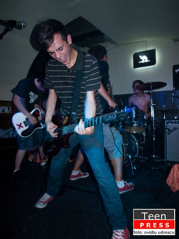 Backstage Hero in Club Elephant - 31 August