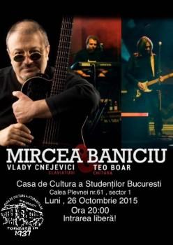 concert baniciu 26 oct