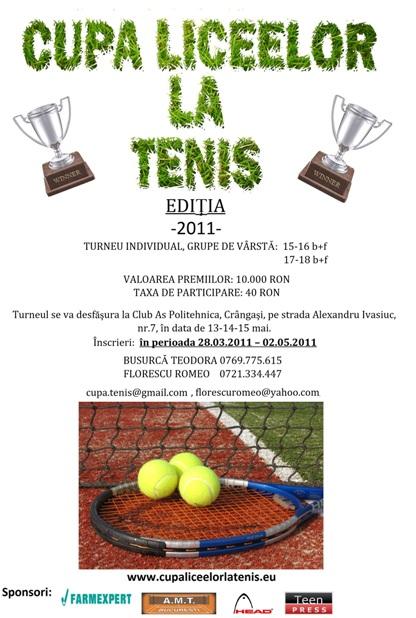 Cupa Liceelor la Tenis
