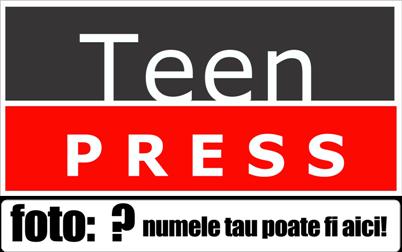 Vreau sa fac fotografii pentru revista Teen Press