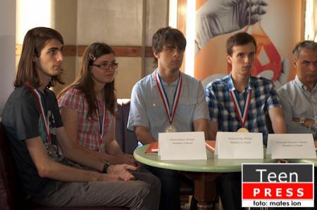 Intalnirea cu lotul olimpic la chimie si decernarea premiilor Actavis