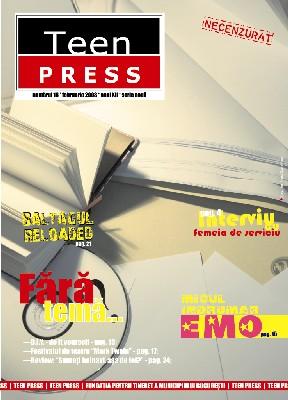 Revista de liceu Teen Press Nr 16  Fara Tema