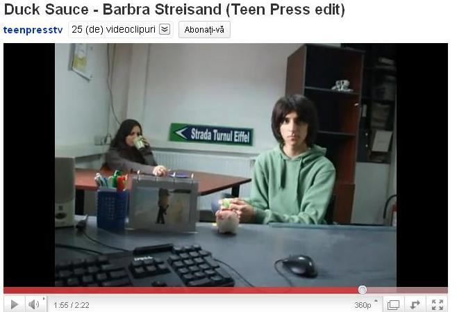 Teen Press - Duck Sauce - Barbra Streisand